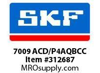 SKF-Bearing 7009 ACD/P4AQBCC
