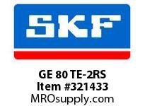 SKF-Bearing GE 80 TE-2RS