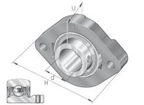 INA FLCTEY40 Two-bolt oval flanged unit