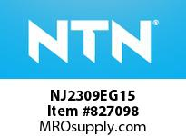 NTN NJ2309EG15 Cylindrical Roller Bearings