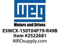 WEG ESWCX-150T04P79-R49B XP FVNR 125HP/460 N79 460/120V Panels