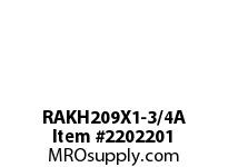 PTI RAKH209X1-3/4A PILLOW BLOCK BEARING-1-3/4 RAKH 200 GOLD SERIES - NORMAL DUTY