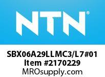 NTN SBX06A29LLMC3/L7#01 Insert Brg (Standard)